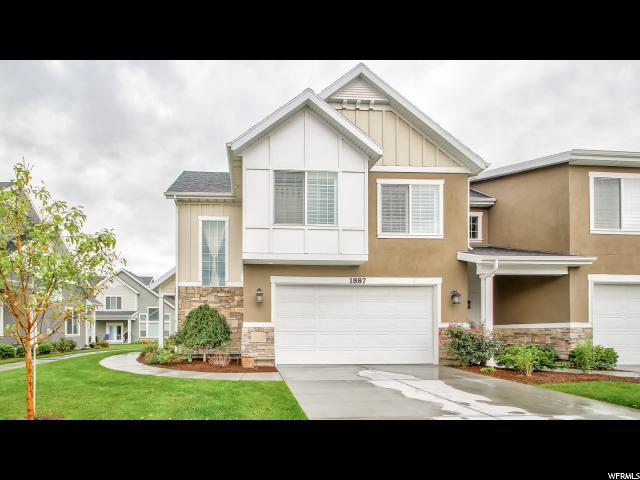 1887 W City Village Way, Riverton, UT 84065 (#1482656) :: Keller Williams Legacy