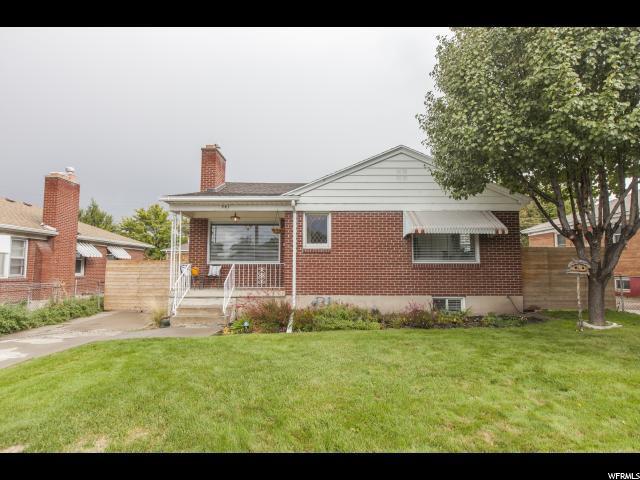 941 E 2700 S, Salt Lake City, UT 84106 (#1484512) :: Colemere Realty Associates
