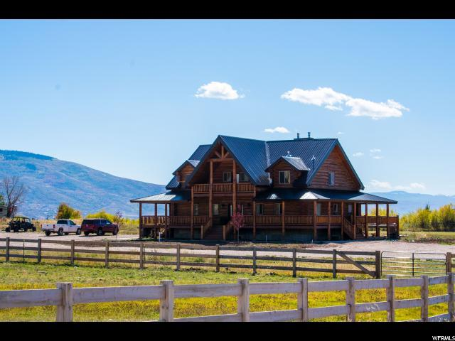 1675 W Sr 32, Peoa, UT 84061 (MLS #1484726) :: High Country Properties