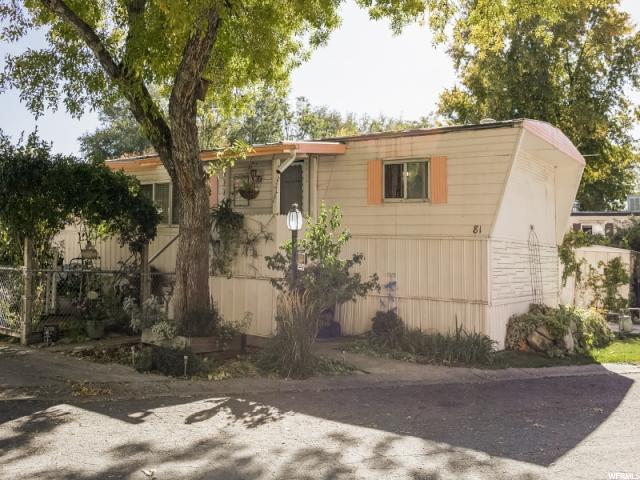 255 S 1600 W #81, Provo, UT 84601 (#1486727) :: Rex Real Estate Team