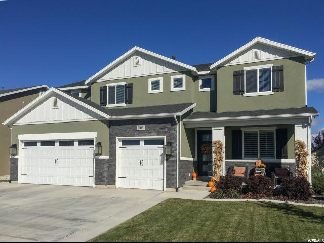 823 E Grey Goose Rd S, Lehi, UT 84043 (#1486850) :: Rex Real Estate Team