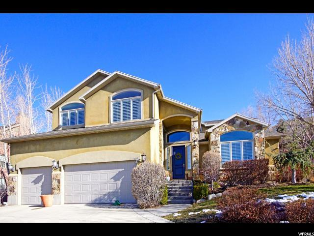 2639 E Chalet Cir, Cottonwood Heights, UT 84093 (#1487381) :: Colemere Realty Associates