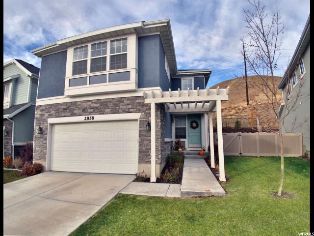 2858 W Bear Ridge Way N, Lehi, UT 84043 (#1491025) :: Eccles Group