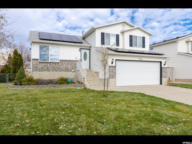 214 W 1475 N, Layton, UT 84041 (#1492268) :: Home Rebates Realty