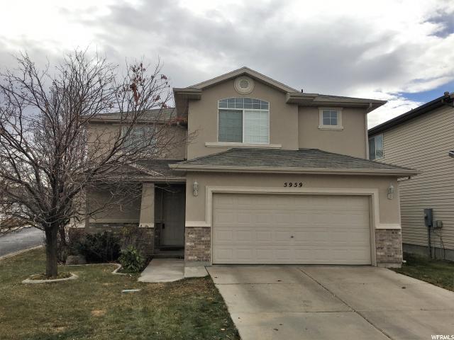 5959 W Firenze Pl, West Jordan, UT 84081 (#1492468) :: Home Rebates Realty