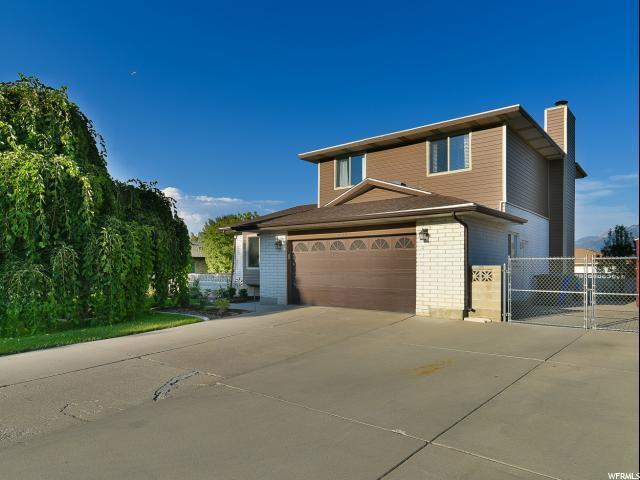 9077 S Wimbleton Pl W, West Jordan, UT 84088 (#1492502) :: Home Rebates Realty