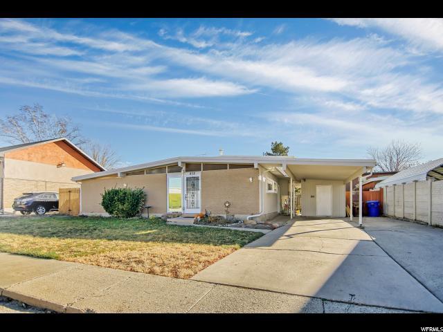 832 E Enchanted Dr, Midvale, UT 84047 (#1492735) :: Home Rebates Realty