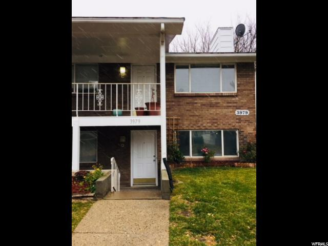 3979 S Vernon Cir D, Salt Lake City, UT 84124 (#1492736) :: Home Rebates Realty