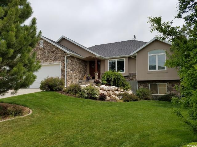 6878 N Black Powder Rd, Mountain Green, UT 84050 (#1499369) :: Home Rebates Realty