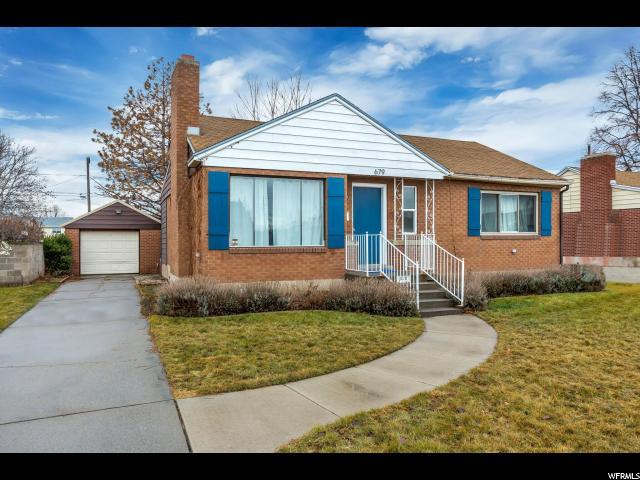 679 W Fern Dr, Midvale, UT 84047 (#1499486) :: Bustos Real Estate   Keller Williams Utah Realtors