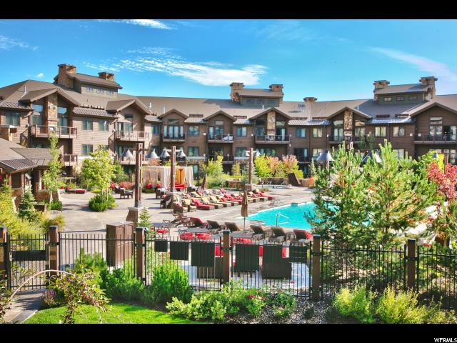2100 Frostwood Blvd #6177, Park City, UT 84098 (#1499515) :: Red Sign Team