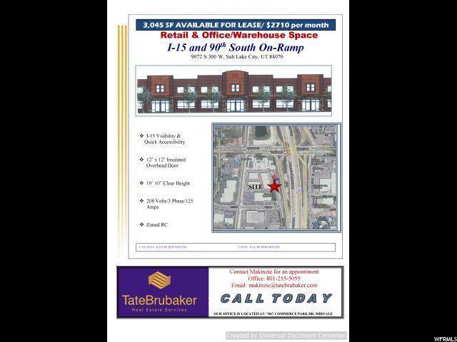 1 9072 S 300 W, Sandy, UT 84070 (#1500417) :: Bustos Real Estate | Keller Williams Utah Realtors