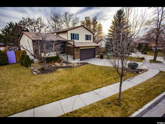 831 W Lucky Clover Ln S, Murray, UT 84123 (#1500665) :: Home Rebates Realty