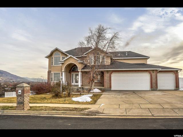 2188 Canyon View Dr, Layton, UT 84040 (#1500779) :: Home Rebates Realty