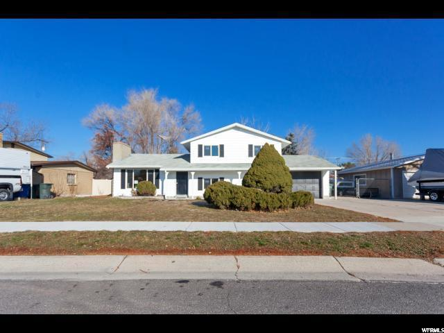 2598 W Hallmark Dr, West Valley City, UT 84119 (#1500985) :: Home Rebates Realty