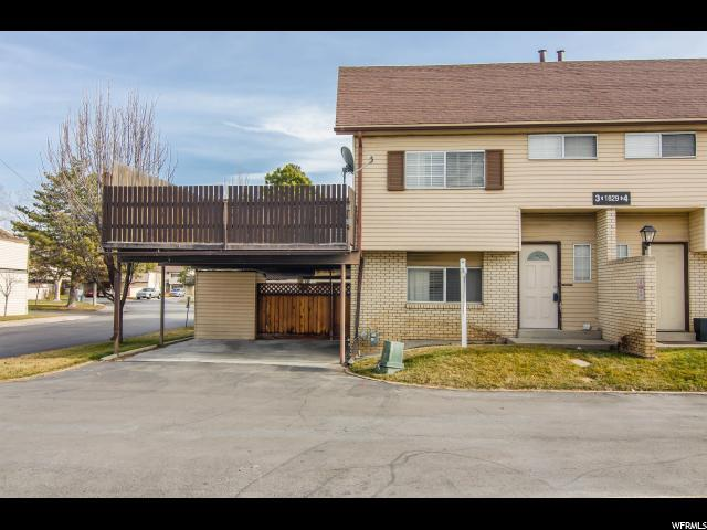1829 W Homestead Farms Ln #3, West Valley City, UT 84119 (#1501008) :: Home Rebates Realty