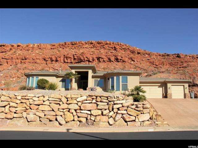 2298 N Cascade Canyon Dr, St. George, UT 84770 (#1501463) :: Exit Realty Success