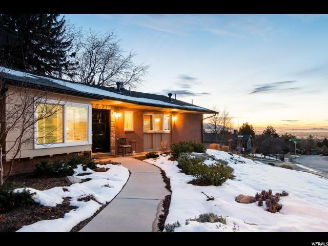 2926 E Crestview Dr, Salt Lake City, UT 84108 (#1503016) :: Bustos Real Estate   Keller Williams Utah Realtors