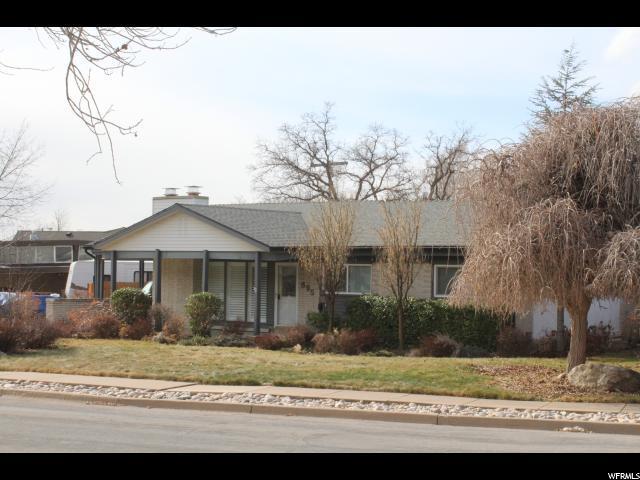 895 E Shannon N, Kaysville, UT 84037 (#1504849) :: Keller Williams Legacy