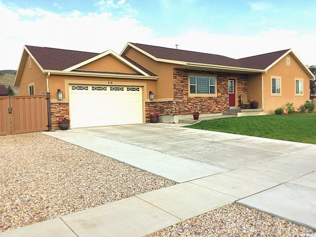 418 N 100 W, Kamas, UT 84036 (MLS #1505287) :: High Country Properties