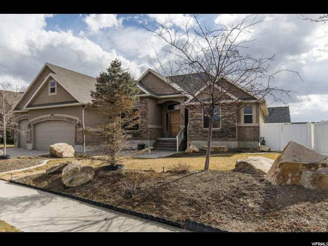 1801 W Mason View Dr, Riverton, UT 84065 (#1505721) :: The Utah Homes Team with iPro Realty Network