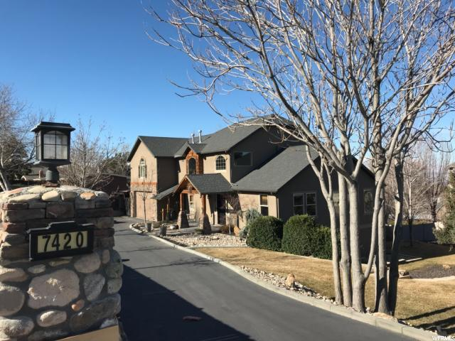 7420 S Butler Hills Dr, Cottonwood Heights, UT 84121 (#1506060) :: Action Team Realty