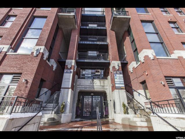360 W 300 S #413, Salt Lake City, UT 84101 (#1506455) :: Bustos Real Estate | Keller Williams Utah Realtors