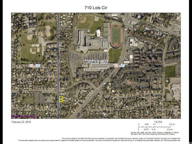 710 E Lois Cir, Midvale, UT 84047 (#1506792) :: Action Team Realty