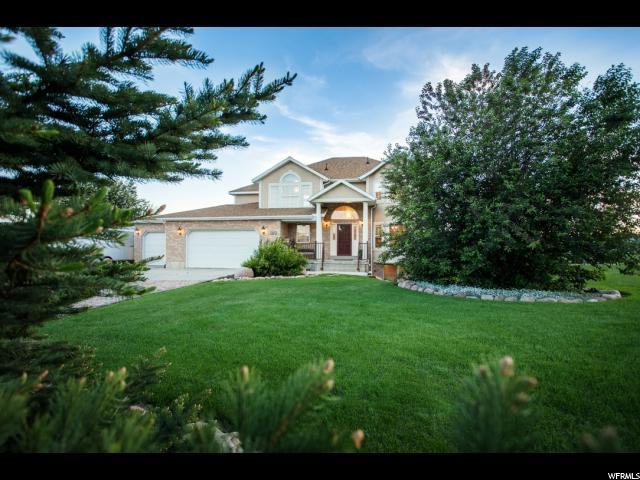 570 W Weber Canyon Rd, Oakley, UT 84055 (#1510954) :: The Fields Team
