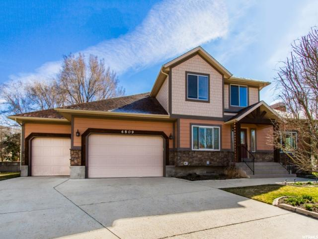 6809 S Creekcove Way E, Cottonwood Heights, UT 84047 (#1512225) :: Red Sign Team