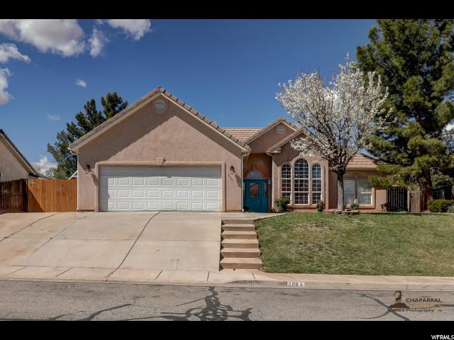 2883 E Overlook Dr, St. George, UT 84790 (#1513313) :: Bustos Real Estate | Keller Williams Utah Realtors