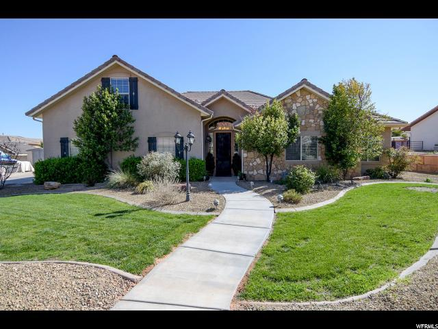 1707 W Shivwits Dr, St. George, UT 84790 (#1515484) :: Exit Realty Success