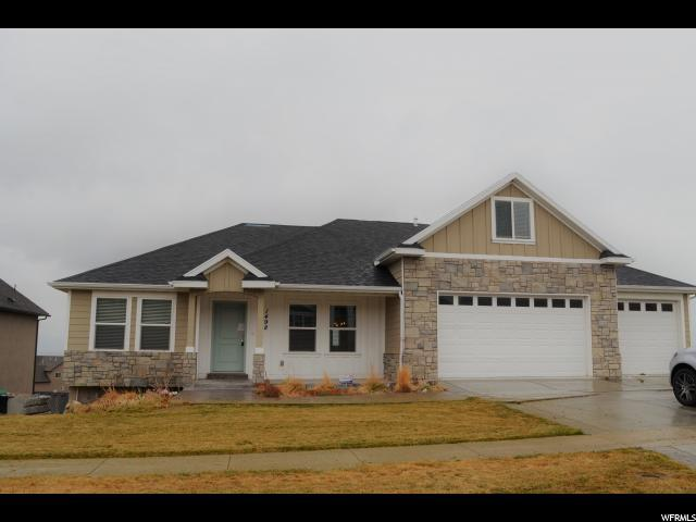 1498 S Rocky Ridge Ln, Saratoga Springs, UT 84045 (#1516045) :: The Fields Team