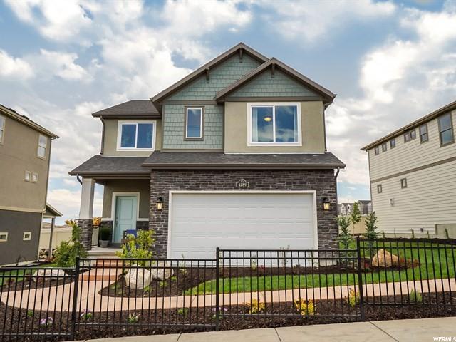 4289 W Rosecrest Rd W, Herriman, UT 84096 (#1516305) :: Big Key Real Estate