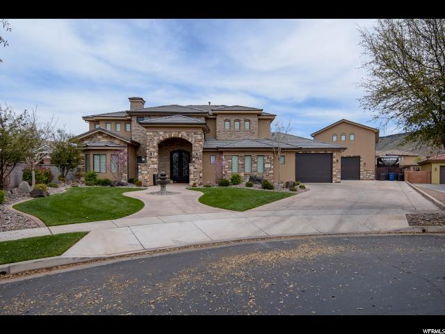 1602 W Chateau Cir, St. George, UT 84770 (#1516535) :: goBE Realty