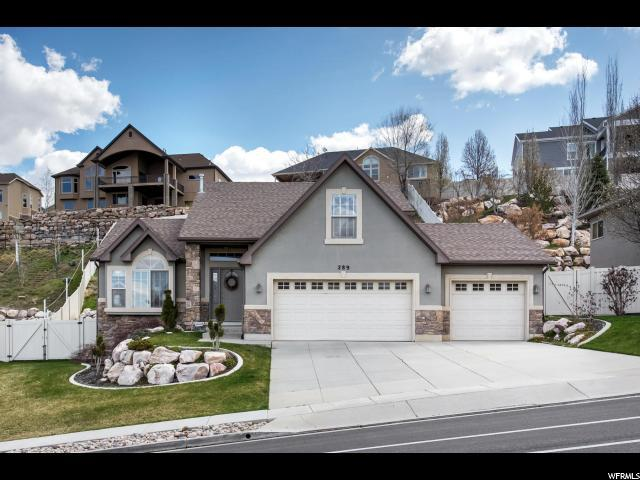 289 E Eagleridge Dr S, North Salt Lake, UT 84054 (#1516621) :: Bustos Real Estate | Keller Williams Utah Realtors
