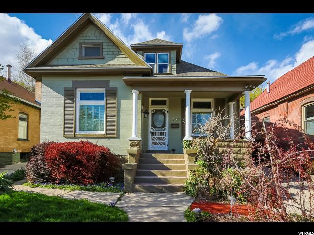 831 6TH Ave, Salt Lake City, UT 84103 (#1518581) :: Bustos Real Estate | Keller Williams Utah Realtors