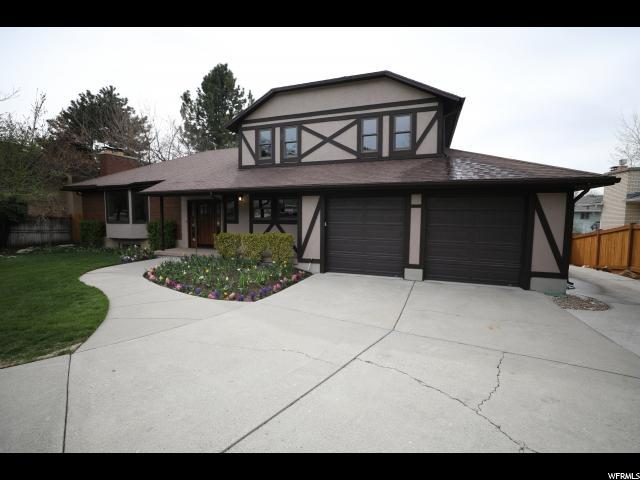 9644 S Chylene Dr E, Sandy, UT 84092 (#1518622) :: Bustos Real Estate | Keller Williams Utah Realtors