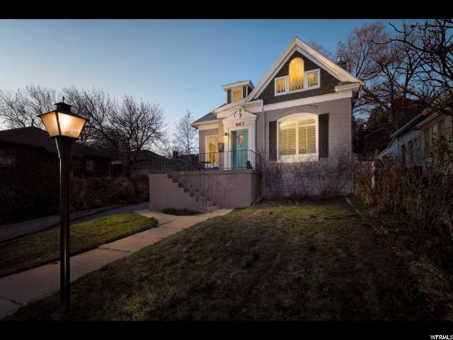 663 E Eighth Ave N, Salt Lake City, UT 84103 (#1518689) :: Bustos Real Estate | Keller Williams Utah Realtors