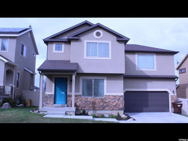 4812 E Kaylee Ct, Eagle Mountain, UT 84005 (#1519068) :: The Fields Team