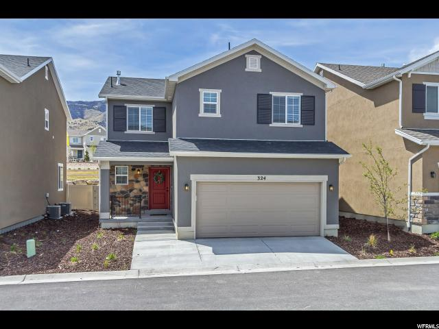 324 W Willow Creek Dr S, Saratoga Springs, UT 84045 (#1519221) :: The Fields Team