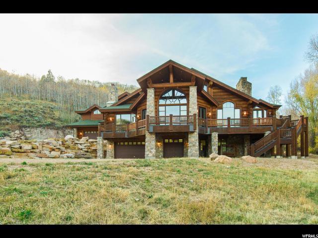 3950 E Weber Canyon Rd. N, Oakley, UT 84055 (MLS #1519385) :: High Country Properties