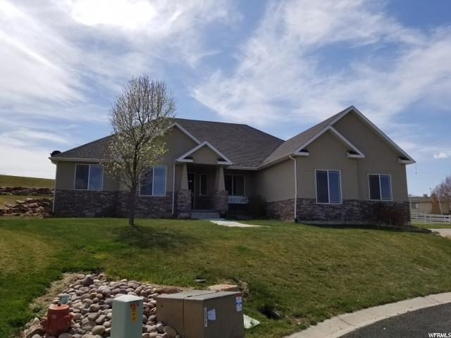 885 N Canyonview W, Roosevelt, UT 84066 (#1519988) :: The Fields Team