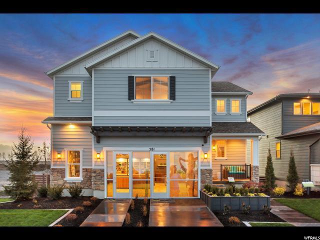 581 N 100 E #126, Vineyard, UT 84058 (#1521239) :: Big Key Real Estate