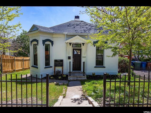 368 E 7TH Ave, Salt Lake City, UT 84103 (#1523324) :: Colemere Realty Associates