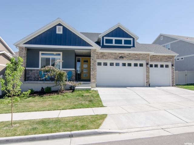 4267 W Lower Meadow Dr, Herriman, UT 84096 (#1523708) :: goBE Realty