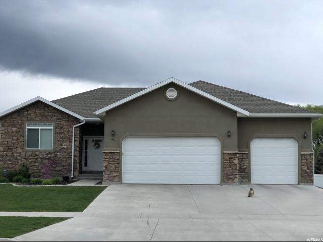 45 S 200 W, Hyde Park, UT 84318 (#1523898) :: Big Key Real Estate