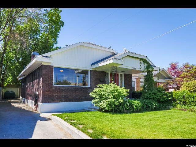 578 E 1700 S, Salt Lake City, UT 84105 (#1523925) :: Big Key Real Estate