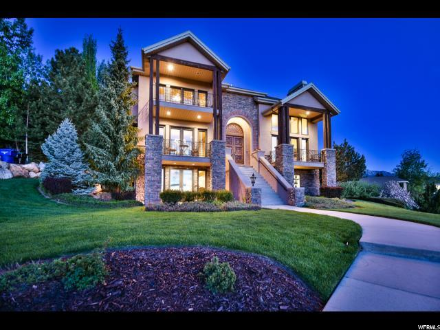 3608 E Crest Mount Cir, Holladay, UT 84121 (#1524054) :: goBE Realty
