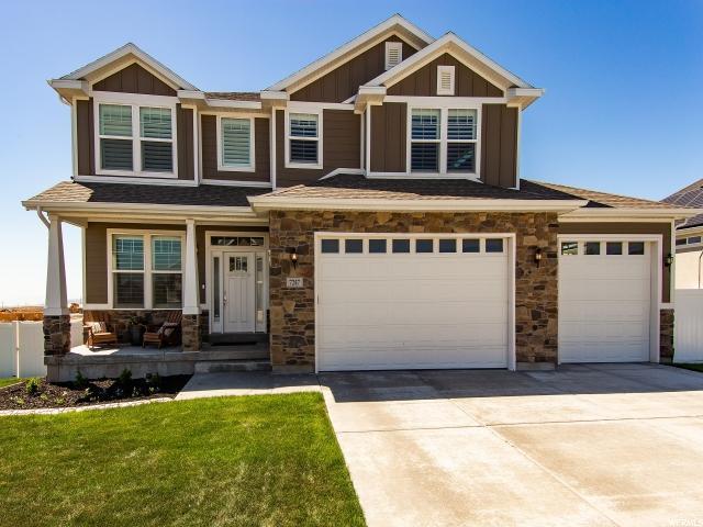 7247 W Flaxton Ln S, West Jordan, UT 84081 (#1524151) :: Big Key Real Estate